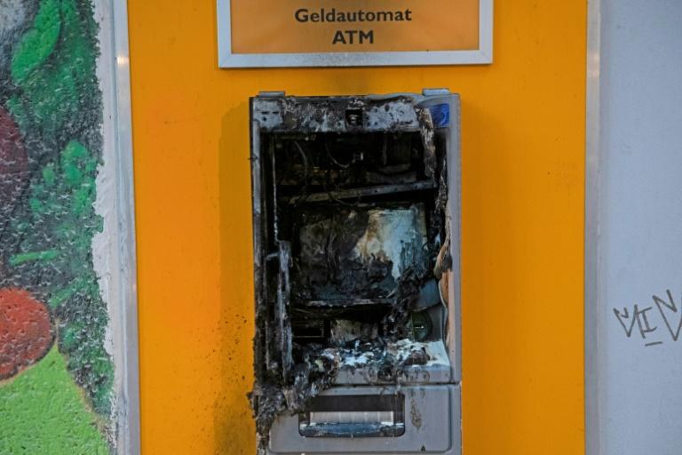 Zahl der Angriffe auf Geldautomaten gestiegen (© 2019 AFP)