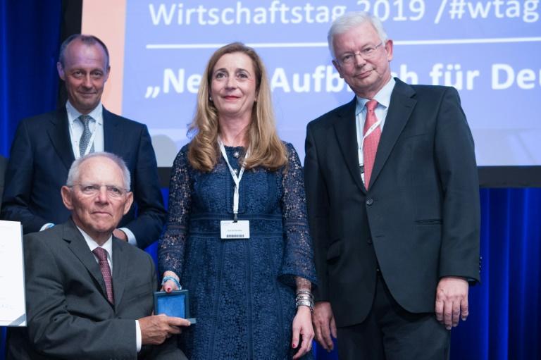 """Neue Chefin des CDU-Wirtschaftsrats warnt vor """"teuren Rabatten"""" für SPD (© 2019 AFP)"""