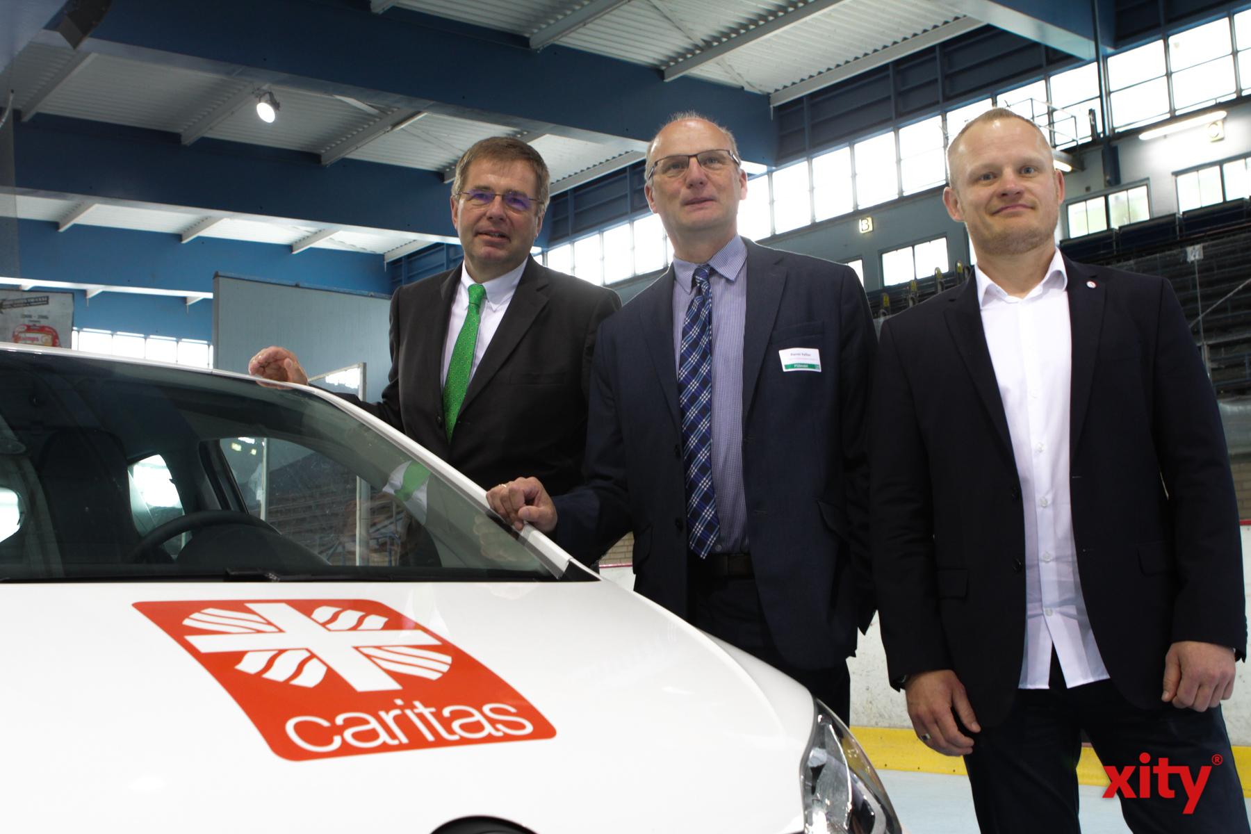 Das Team der Hospizdienste Caritas Wuppertal/Solingen (Foto: xity)