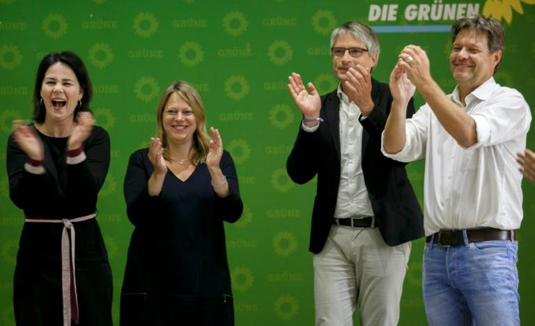 """Grüne in ZDF-""""Politbarometer"""" auf Augenhöhe mit der Union (© 2019 AFP)"""