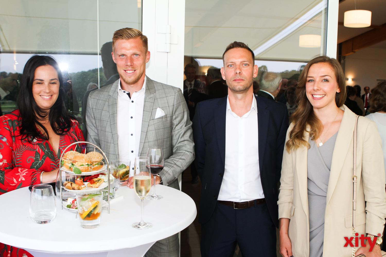 Unter den Gästen war auch Fortuna Rouwen Hennings (Foto: xity)