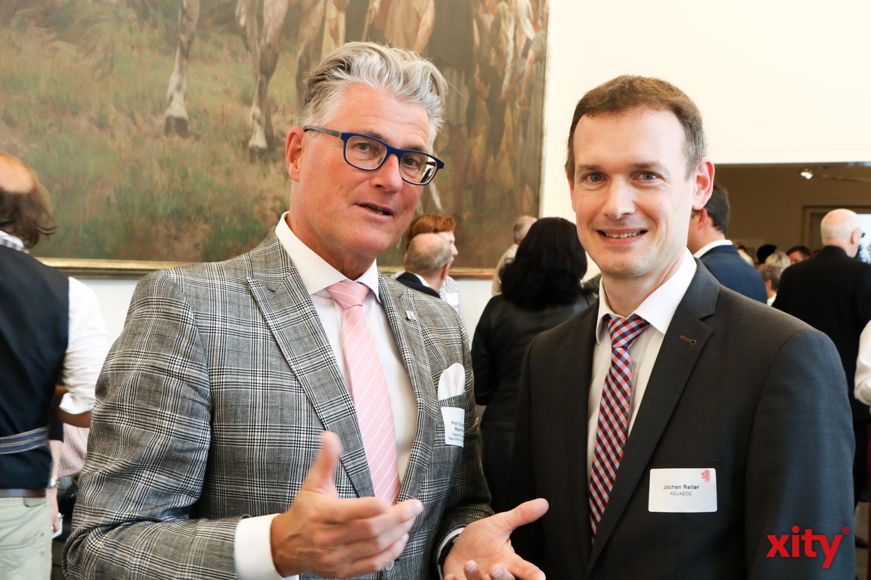 Prof. Dr. Andreas Meyer-Falcke und Jochen Reiter (Foto: xity)