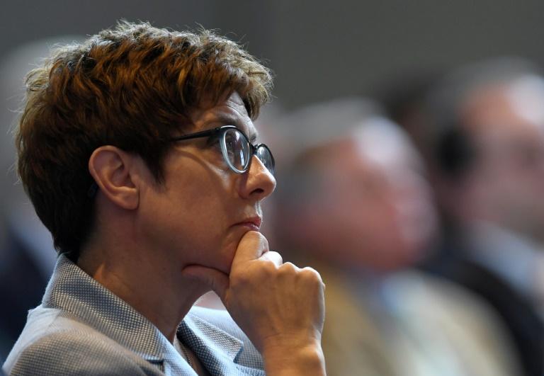 Kramp-Karrenbauer warnt vor Rot-Rot-Grün im Bund (© 2019 AFP)