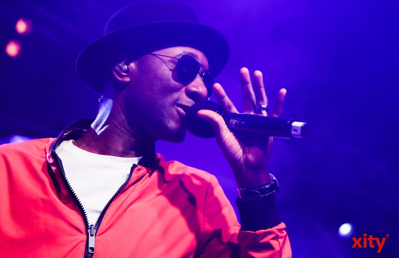 Aloe Blacc spielte am Samstag im Zelt auf dem Burgplatz (Foto: xity)