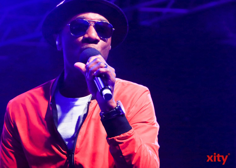 Aloe Blacc begeisterte die Fans mit seiner souligen Stimme (Foto: xity)