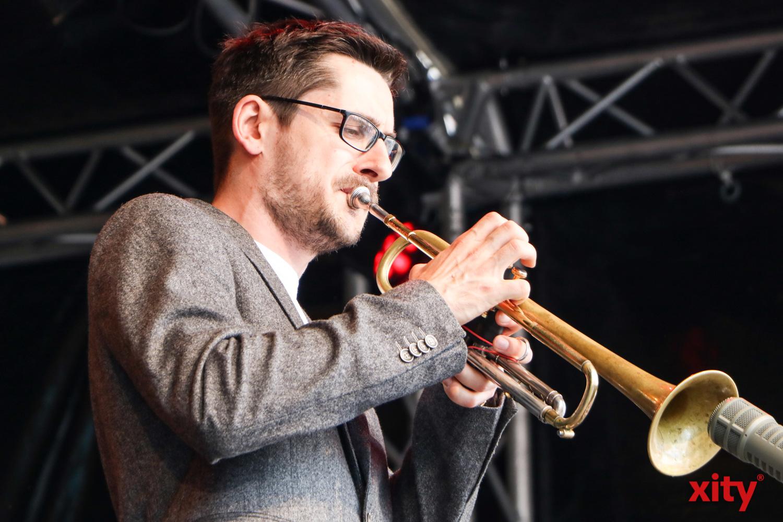 Auf der Sparda-Bühne wurden junge Nachwuchsbands wie das Maik Krahl Quartett gefördert (Foto: xity)