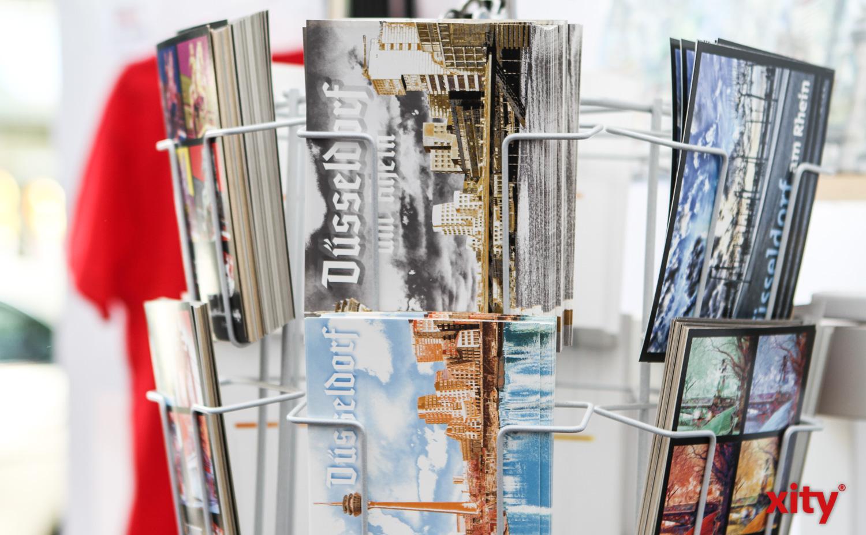Auch Postkarten gab es zu entdecken (Foto: xity)