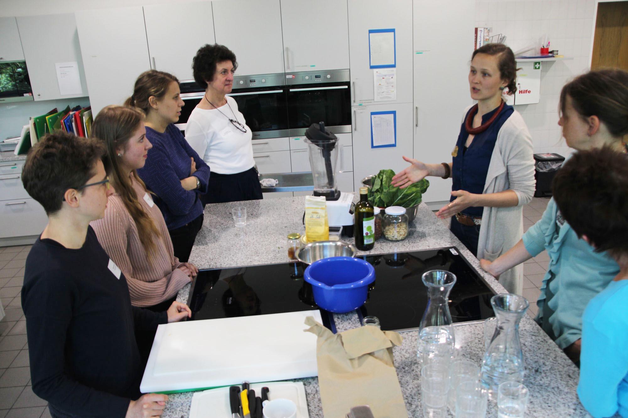 Ein schmackhafter Mittagsimbiss, der von Schülerinnen und Schülern des Berufskollegs zubereitet wurde, rundete den Tag ab. (Foto: Stadt Münster)