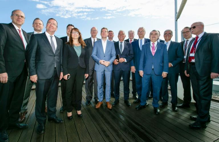 Innenminister setzen Konferenz in Kiel fort