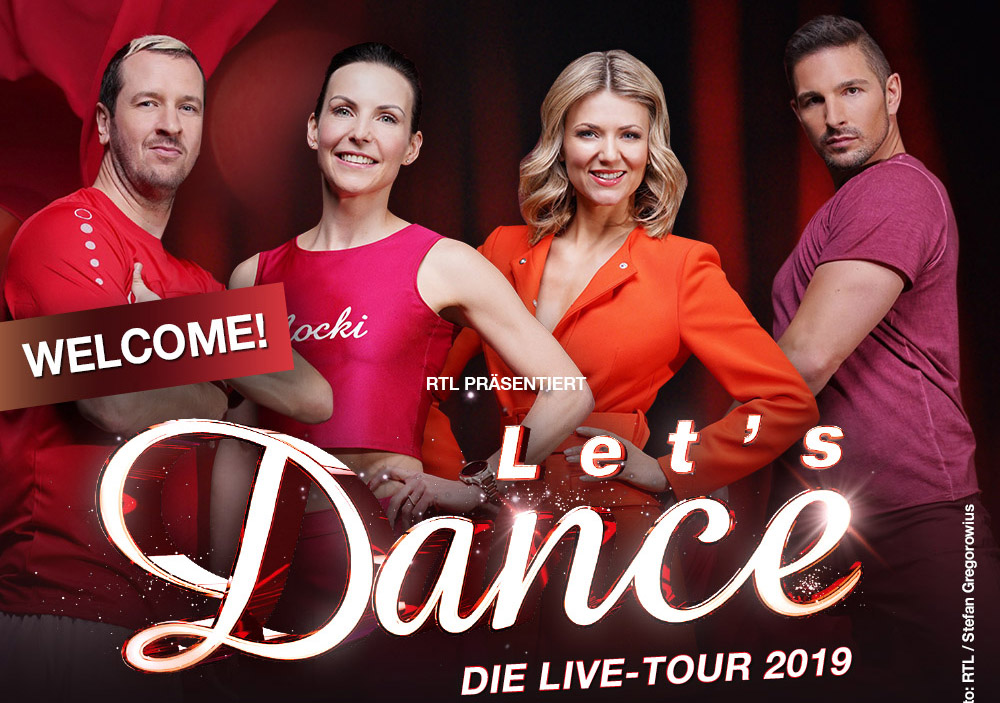 Pascal Hens bei 'Let's Dance Live-Tour' dabei