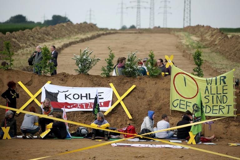 Klimaschützer fordern schnellen Kohleausstieg im Rheinland