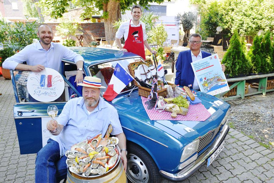 Kulinarischer Kurzurlaub beim Frankreichfest