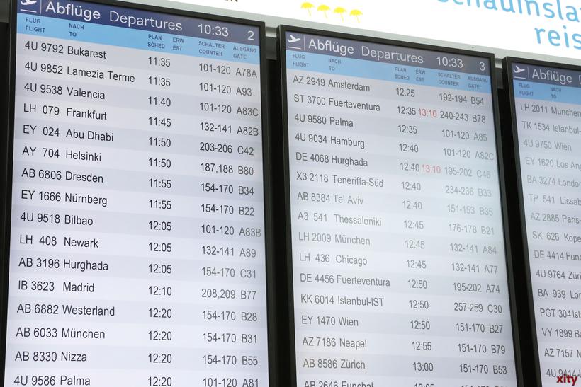 Droht uns im Sommer ein Chaos an den Flughäfen? (Foto: xity)