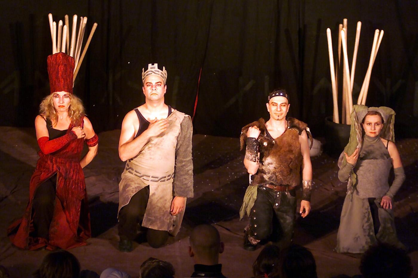 """""""Die Nibelungen"""" beim Open Air Theater im Poensgenpark (Foto: Live on Stage-Bildagentur/Hedwig Weimer)"""