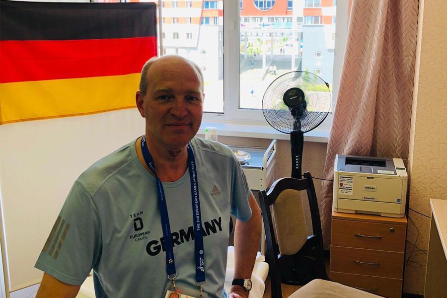 European Games: Ein Borusse kümmert sich um alle