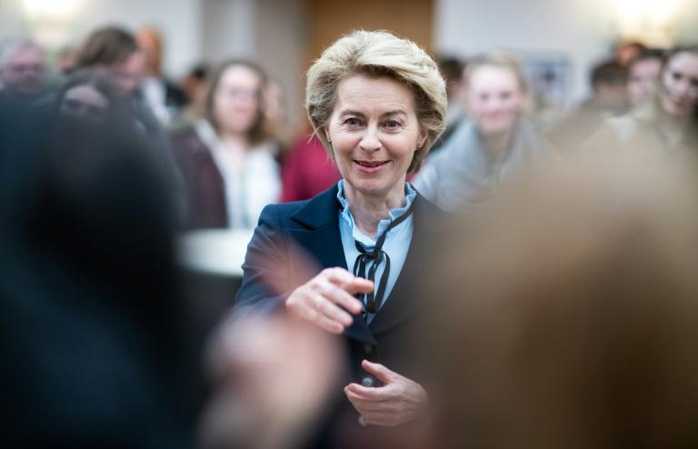 Von der Leyen empfängt europäische Verteidigungsminister