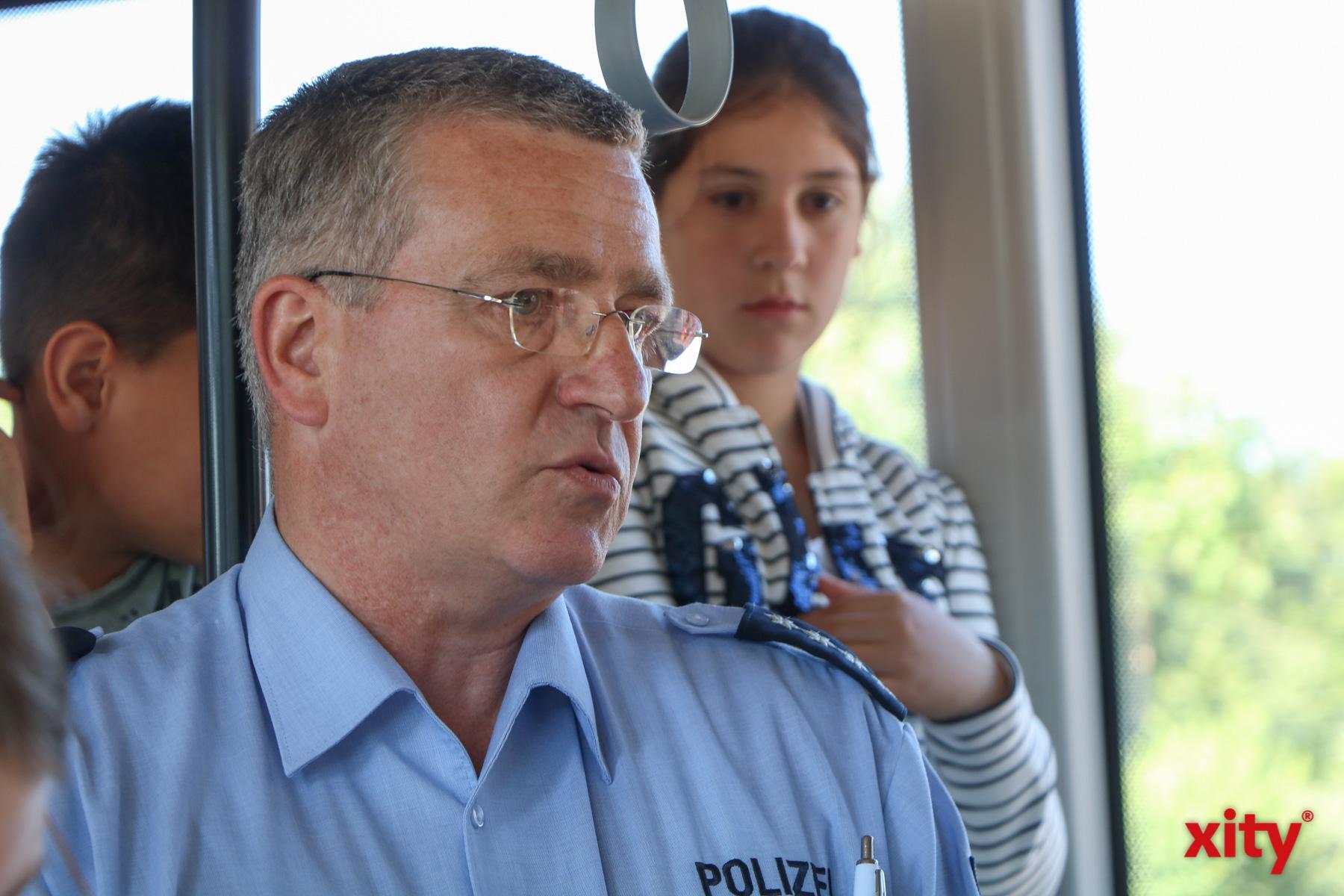 Karsten Ingenhoven, Leiter der Unfallprävention der Kreispolizeibehörde Mettmann (Foto: xity)