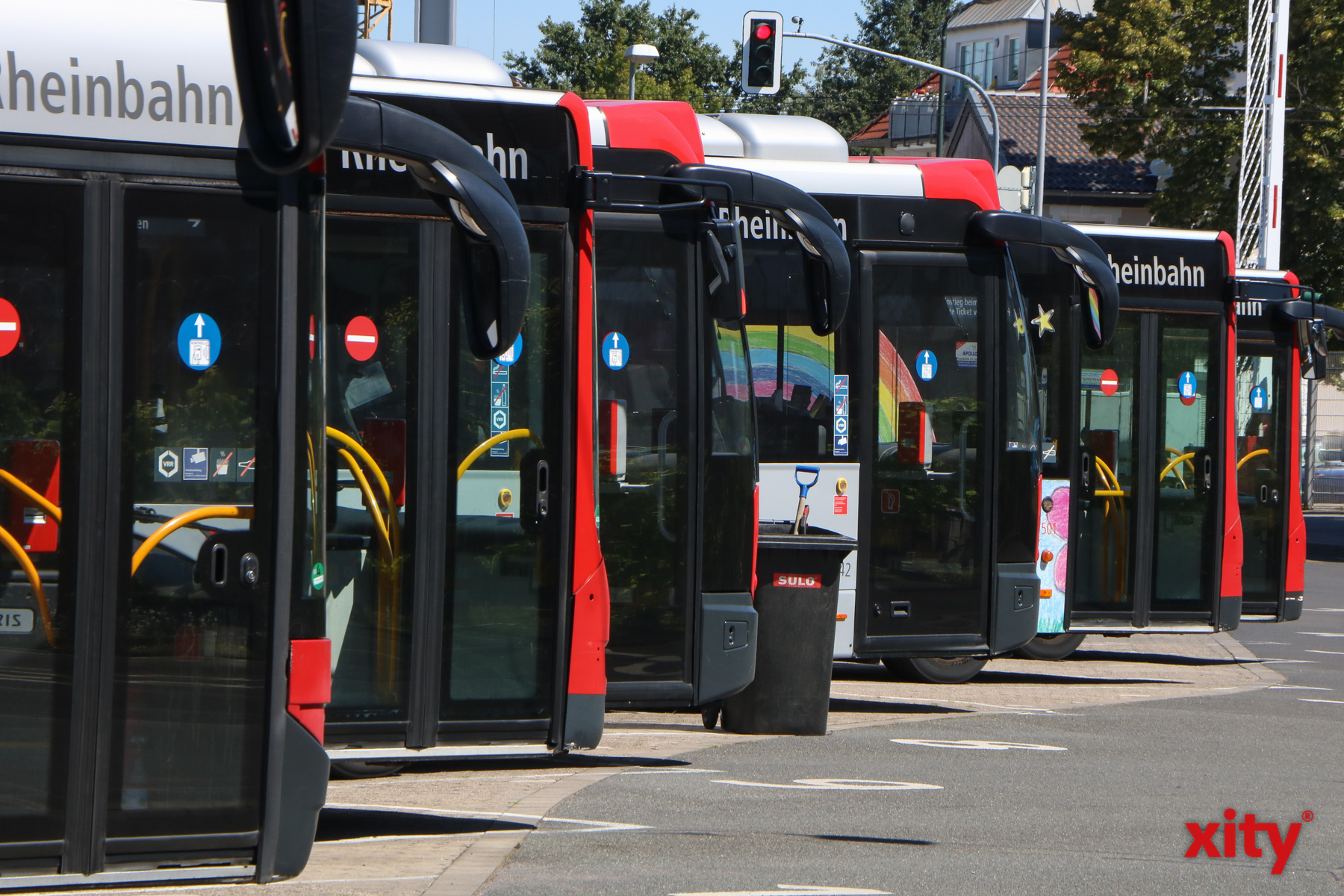 Die Busschule findet auf dem Betriebshof der Rheinbahn (Foto: xity)