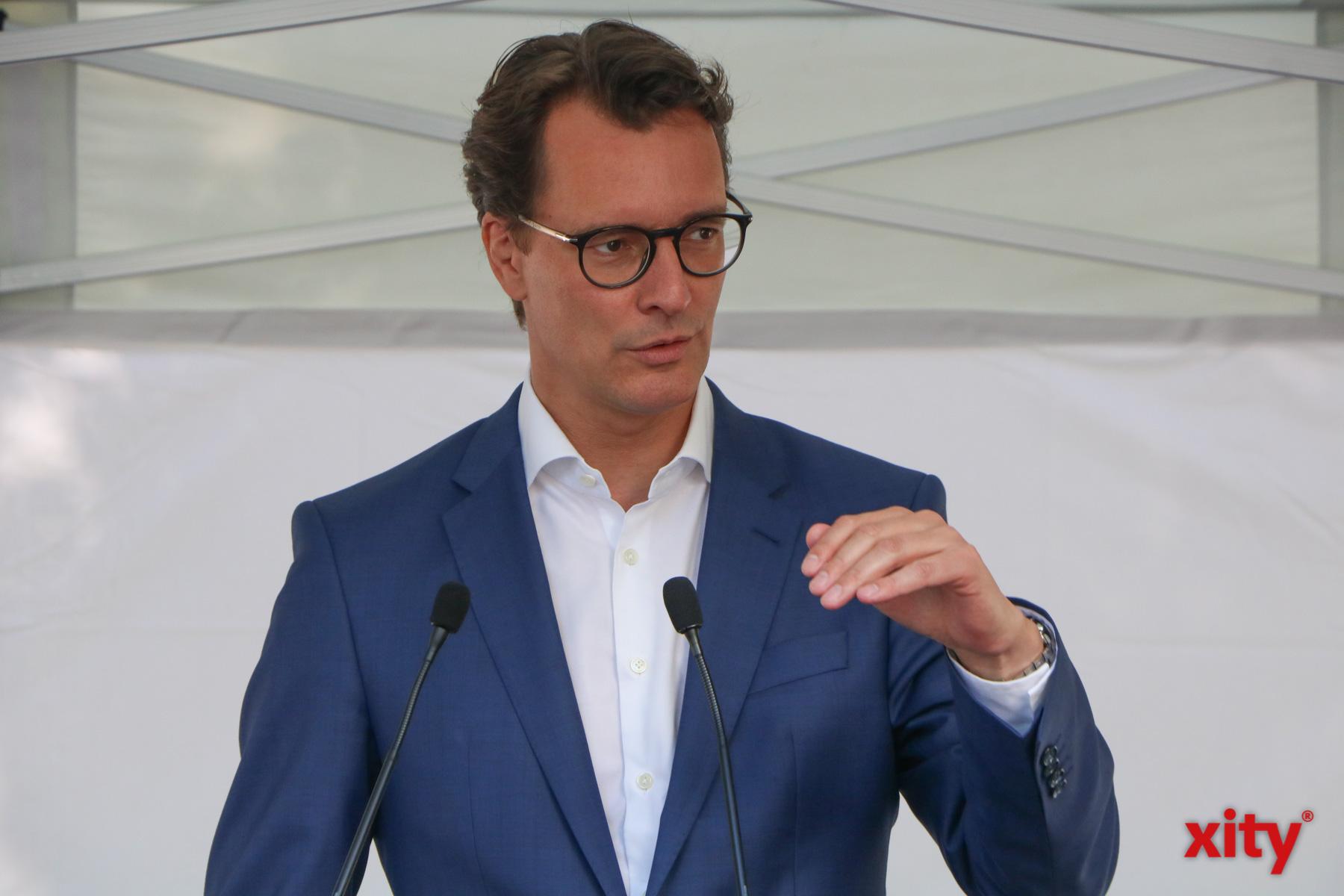 Hendrik Wüst, Verkehrsminister des Landes Nordrhein-Westfalen (Foto: xity)