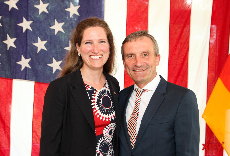 Fiona Evans und Thomas Geisel (Foto: xity)