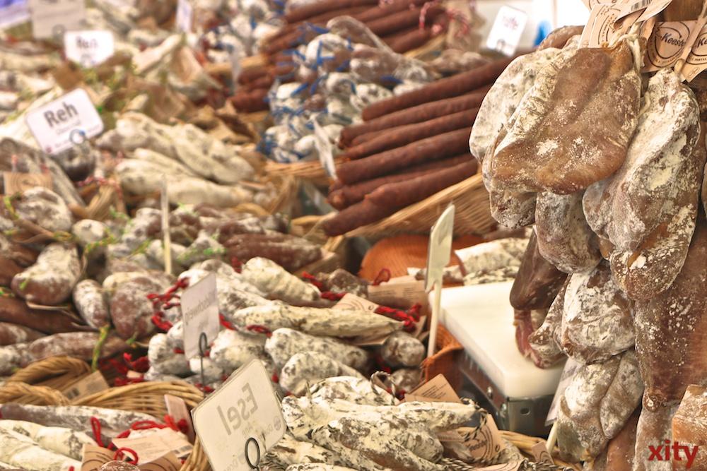 Traditionelle Produkte aus Frankreich werden den Besuchern angeboten (Foto: xity)