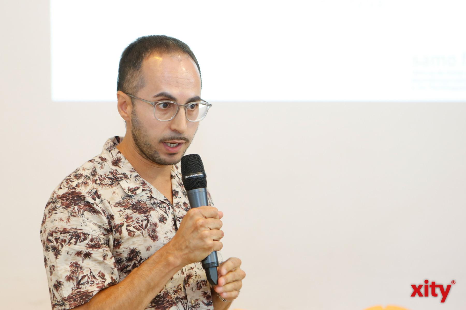 Dr. Andrès Otálvaro vom Bundesverband Netzwerke von Migrationsorganisationen (Foto: xity)