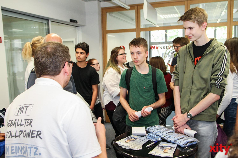 Die Jugendlichen waren interessiert (Foto: xity)
