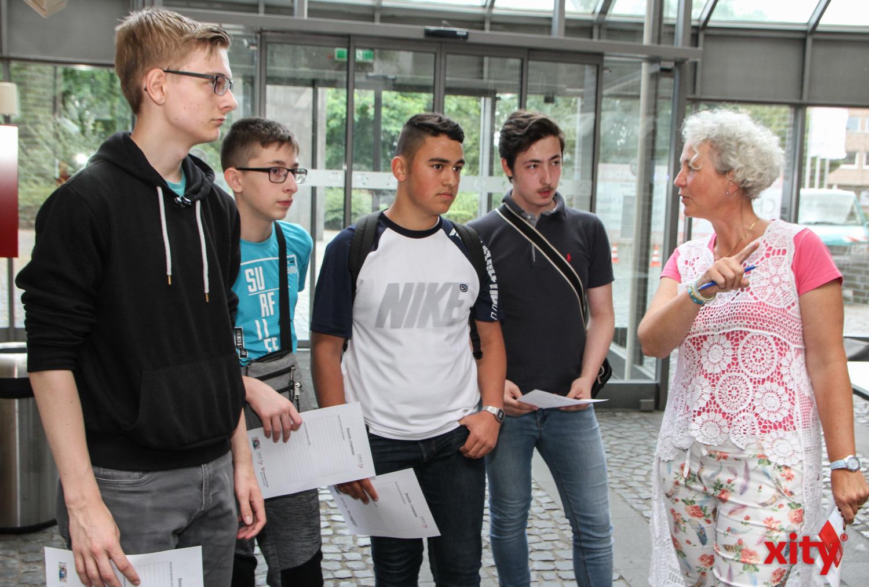 In der Agentur für Arbeit konnten die Schülerinnen und Schüler sich zum öffentlichen Dienst informieren  (Foto: xity)