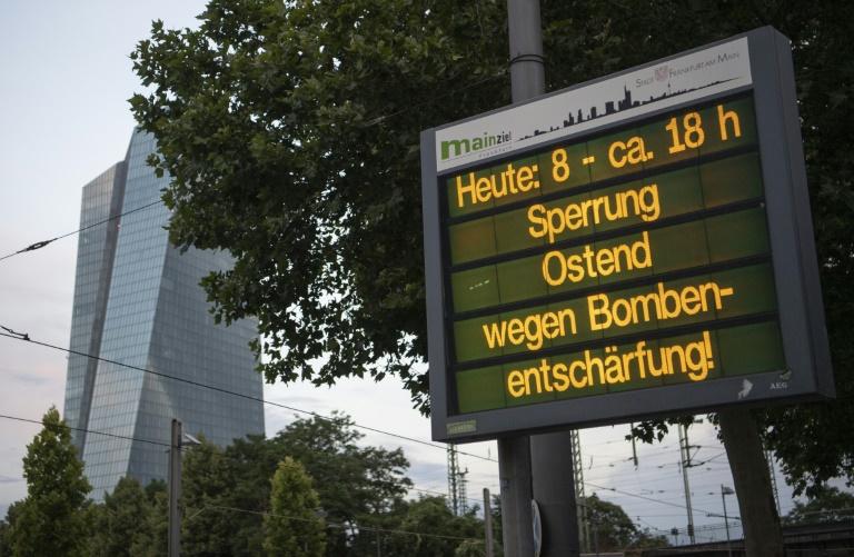 16.500 Menschen müssen Wohnungen wegen Bombenentschärfung in Frankfurt räumen (© 2019 AFP)