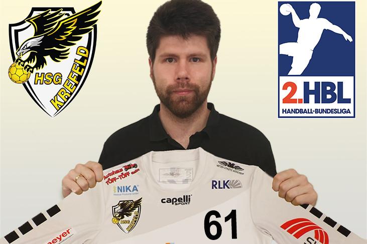 Eagles verpflichten Torwart Norman Toth (Foto: HSG Krefeld)
