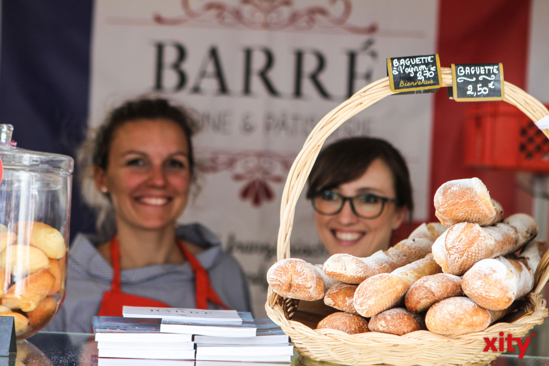 Original französisches Baguette durfte nicht fehlen (Foto: xity)