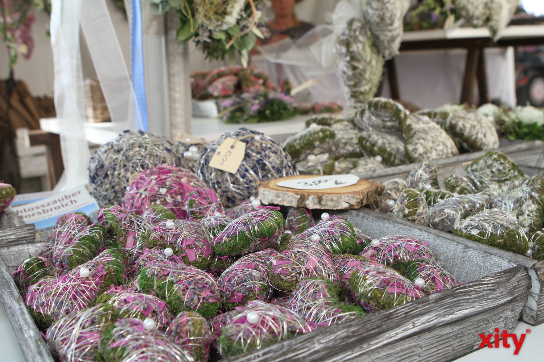 Kräutersäckchen aus der Provence wurden auch angeboten (Foto: xity)