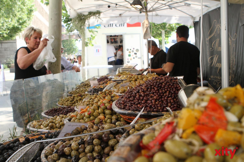 Oliven aus Frankreich wurden gerne als kleine Mahlzeit mitgenommen (Foto: xity)