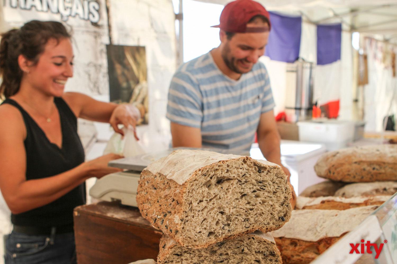 Französisches Brot in allen Variationen wurde angeboten (Foto: xity)
