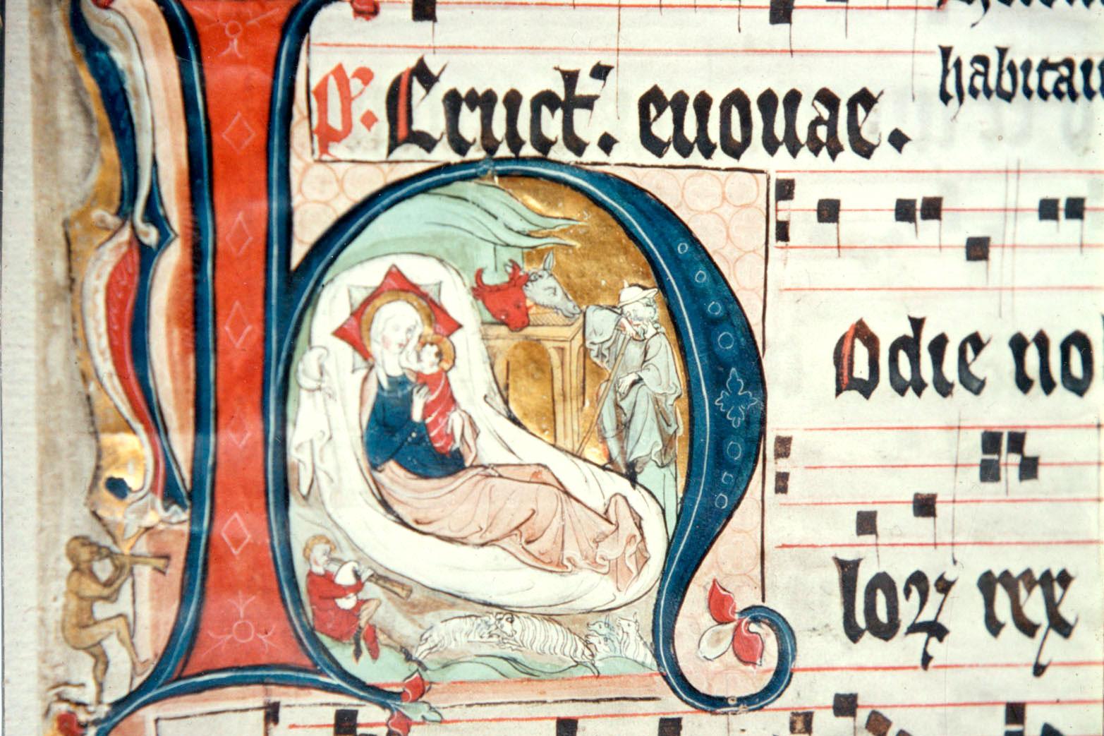 """Kloster Paradiese Handschriften """"Schutzmantel-Madonna"""" (Foto: Günter Röing)"""