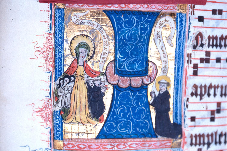 """Handschriften Kloster Paradiese """"Geburt Jesu"""" (Foto: Günter Röing)"""