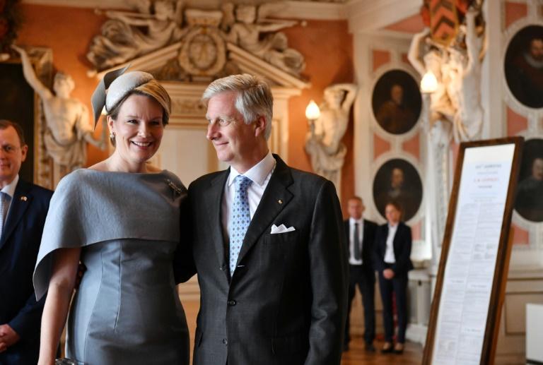 Belgisches Königspaar besucht Gotha und Weimar in Thüringen (© 2019 AFP)