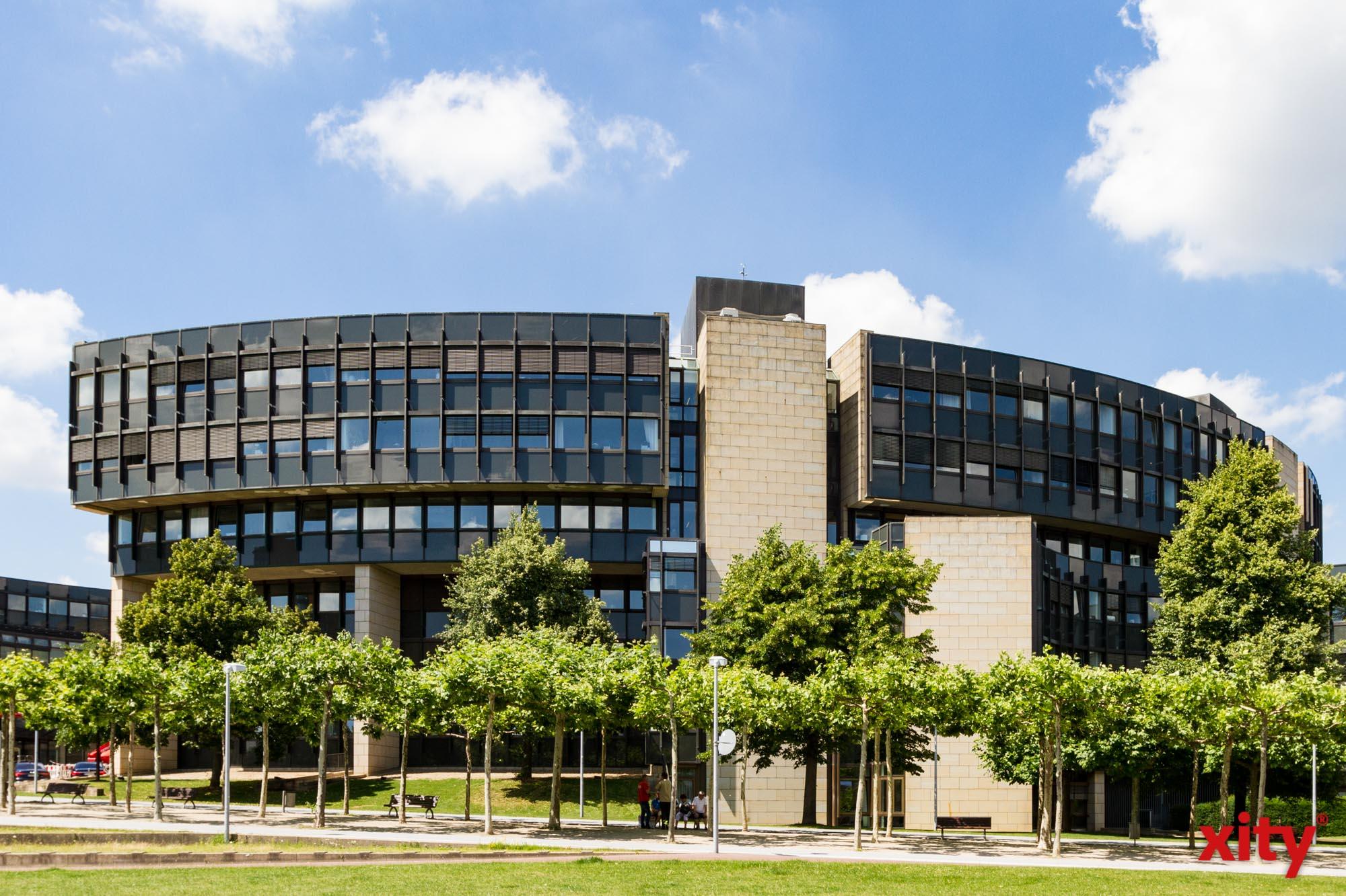 In den Sommerferien laufen Bauarbeiten im Landtag NRW (Foto: xity)