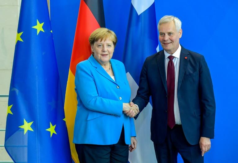 Merkel sagt Finnland Unterstützung bei EU-Ratspräsidentschaft zu (© 2019 AFP)