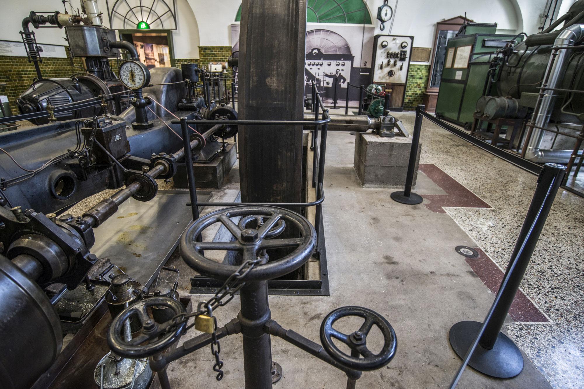 Die Maschinen im Museum Großauheim liefern einzigartige und ungewöhnliche Fotomotive. (Foto: Detlef Sundermann)