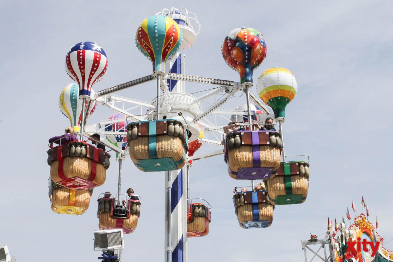 Neue Attraktion für Familien ist die Ballonfahrt (Foto: xity)