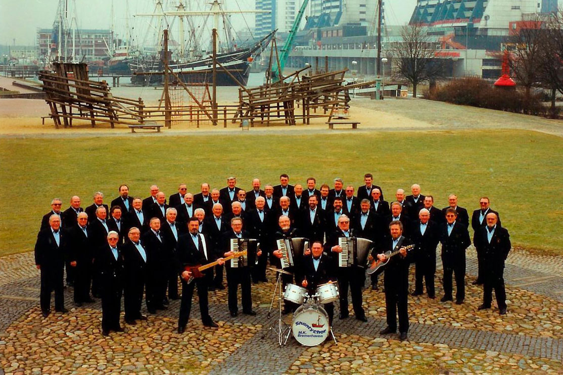 Der SeeemannsChor Bremerhaven und seine 50 aktiven Mitglieder (Foto: SeemannsChor Bremerhaven)
