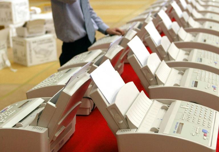 Drei von zehn Jugendlichen kennen Faxgeräte nicht mehr (© 2019 AFP)