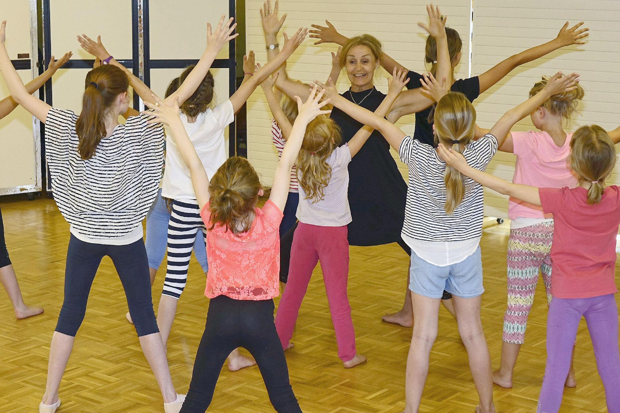 Aufgrund der hohen Nachfrage startet nach den Ferien eine neue Tanzklasse für Kinder von fünf bis sieben Jahren. (Foto:Dagmar C. Weinert)