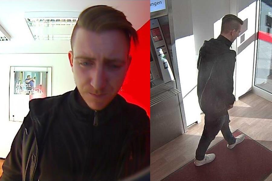 Polizei fahndet nach unbekannten Geldabheber (Foto: Polizei Düsseldorf)