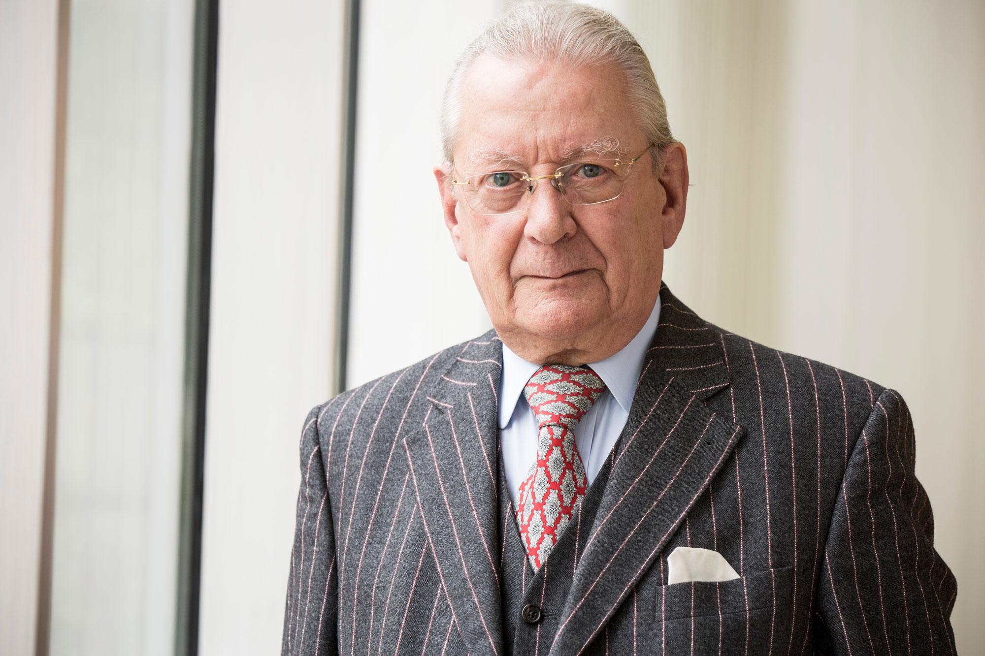 Unternehmer Hans Peter Stihl wird mit dem Aachener Ingenieurpreis ausgezeichnet (Foto: Stihl)