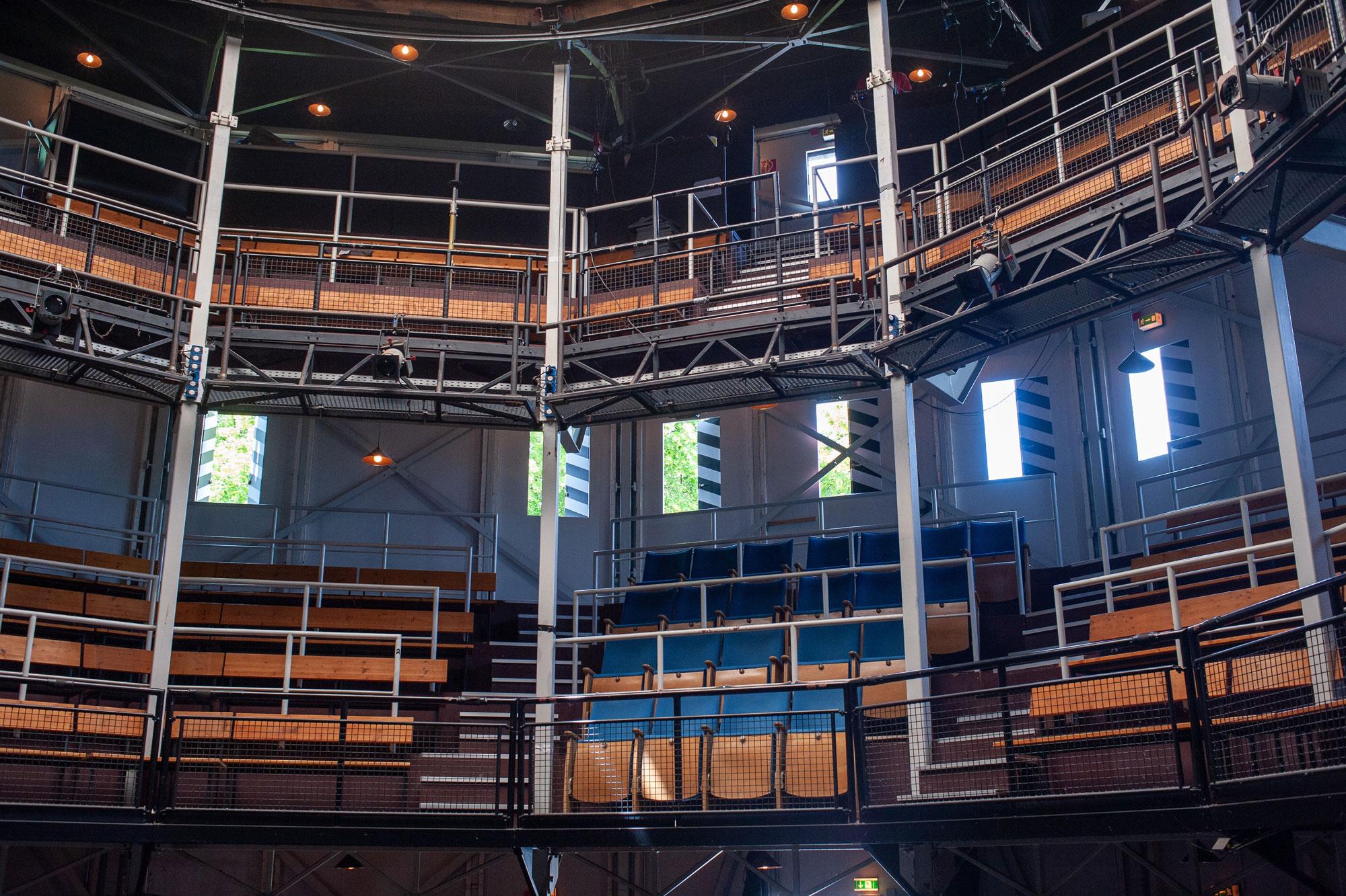 Das Globe - Spielstätte des Shakespeare Festivals (Foto: Christoph Krey)