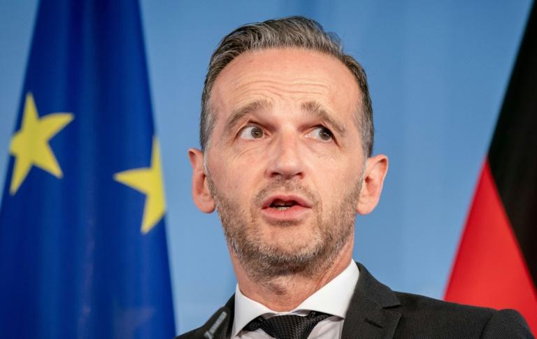 Maas kündigt deutsche Initiative für Verteilung von Flüchtlingen an (© 2019 AFP)