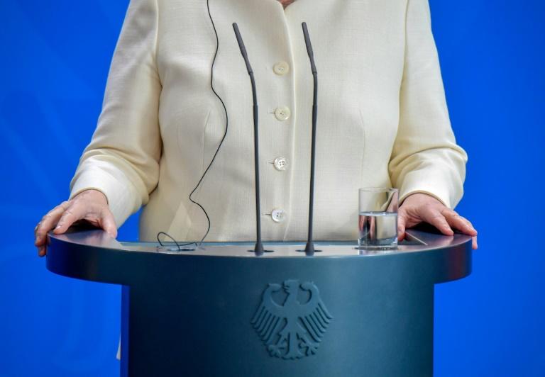 Deutsche halten Merkels Gesundheit für Privatsache (© 2019 AFP)