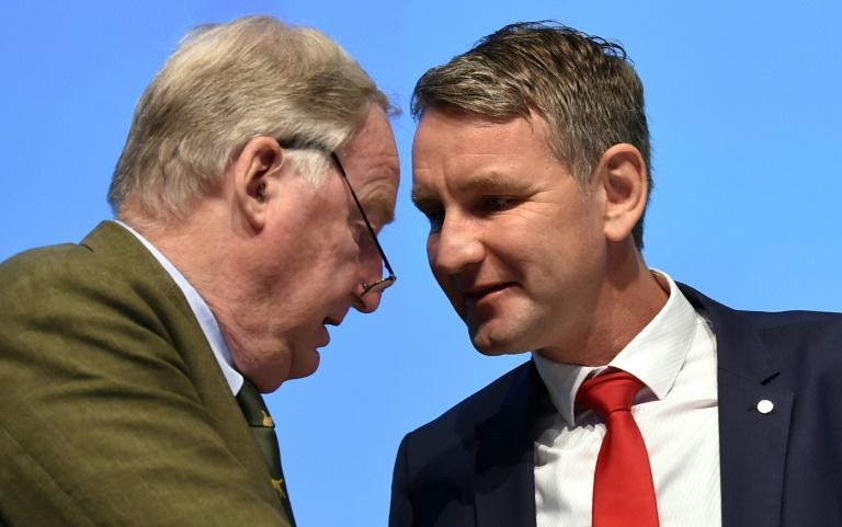 Bericht: AfD-Politiker fordern Höcker heraus (© 2019 AFP)